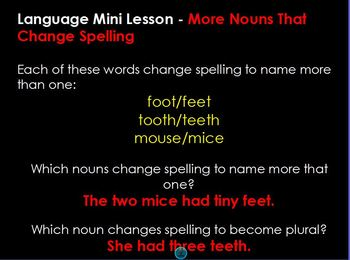 Journeys Grammar Companion Flipchart_Unit 2, Lesson 6
