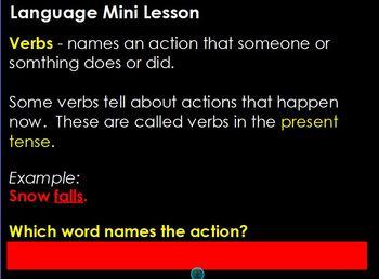 Journeys Grammar Companion Flipchart_Unit 2, Lesson 8