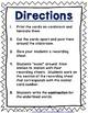 JOURNEYS Grammar SCOOTS or Task Cards - Second Grade Unit 6