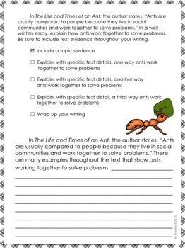 Journeys Grade 4-Unit 3-Lessons 11-15 Writing Prompt Bundle