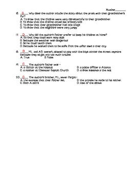 Journeys - HMH © 2011/2012 Grade 4 Lesson 02 Vocabulary/Selection Test