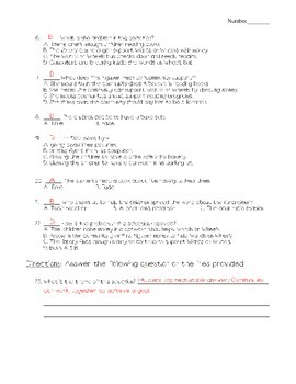 Journeys - HMH © 2011/2012 Grade 4 Lesson 04 Vocabulary/Selection Test