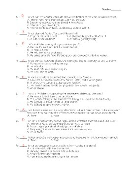 Journeys - HMH © 2011/2012 Grade 4 Lesson 30 Vocabulary/Selection Test
