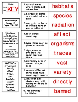 Journeys - HMH © 2014 Grade 4 Lesson 15 Vocabulary Practice