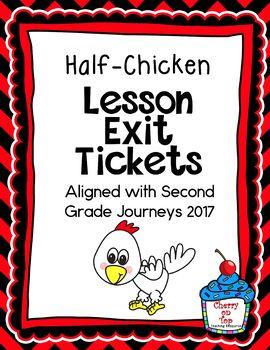 Journeys-Half-Chicken Exit Tickets