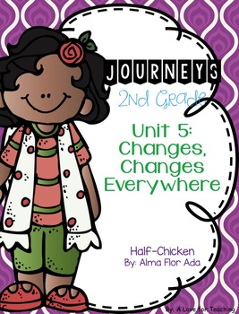Journeys Half-Chicken Grade 2 {Editable}