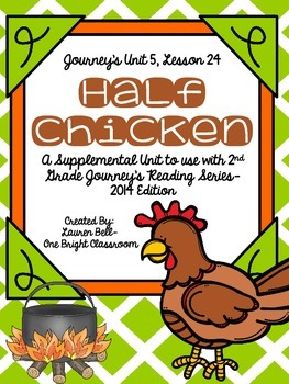 Journeys- Half Chicken Supplemental Unit {Unit 5: Lesson 24}