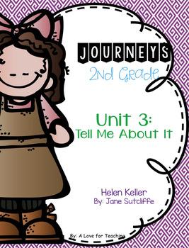 Journeys Helen Keller Grade 2 {Editable}