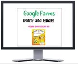 Journeys Henry and Mudge Google Form quiz