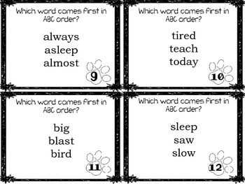 Journeys Henry and Mudge Phonics and Vocabluary Task Cards