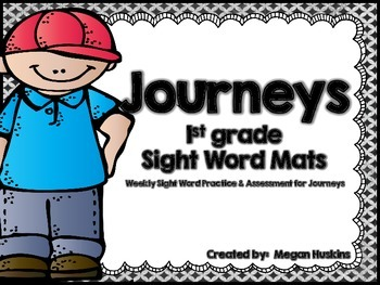 Journeys High Frequency Sight Word Weekly Fluency Practice and Assessment Packet