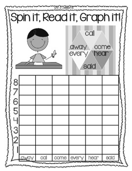 Journeys High Frequency Word Activity FREEBIE SAMPLE Lesson 6 Grade 1