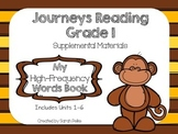 Journeys High-Frequency Word Book Grade 1