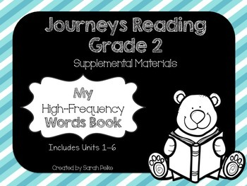 Journeys High-Frequency Word Book Grade 2