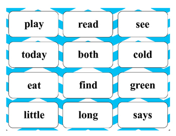 Journeys High Frequency Word Cards