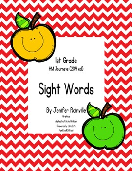 Journeys High Frequency Words