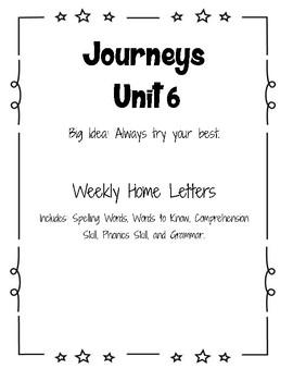 Journeys Home Letter
