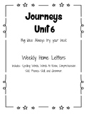 Journeys Home Letter