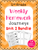 Journeys Homework Unit 2 Bundle- First Grade