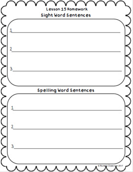 Journeys Homework Unit 2 Bundle- First Grade