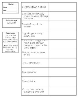Journeys - HMH © 2011/2012 Grade 3 Lesson 16 Vocabulary Practice