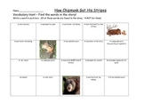 Journeys How Chipmunk Got His Stripes Vocabulary Hunt