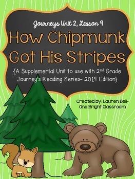 Journeys- How Chipmunk Got His Stripes Supplemental Unit {Unit 2: Lesson 9}