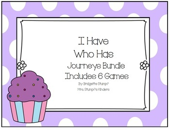 Journeys I Have, Who Has game Bundle Includes 6 Games