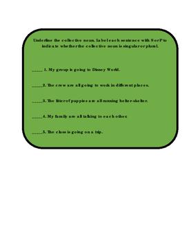 Journeys Interactive Notebook Grammar Lesson 5