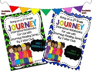 Journeys Interactive Notebooks Bundle