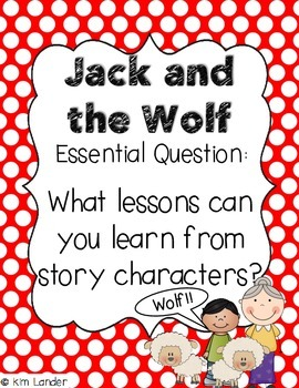 Journeys Jack and the Wolf Lesson Plans and Supplemental Materials