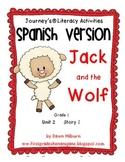 Journeys® Jack and the Wolf *SPANISH* Literacy Activities- Grade 1