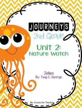 Journeys Jellies Grade 2 {Editable}