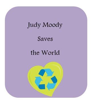 Journeys Judy Moody Saves the World Scavenger Hunt