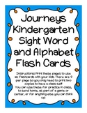 Journeys K Sight Word Flash Cards