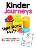 Journeys: Kindergarten High Frequency Play Dough Mats