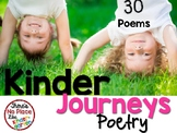 Journeys: Kindergarten POETRY Pocket Chart Pack