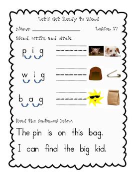 Journeys, Kindergarten, Blending Unit 4