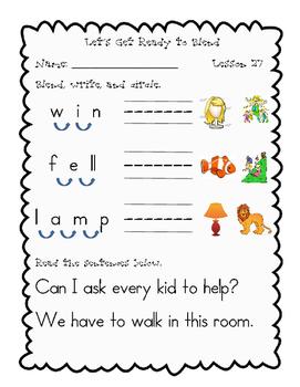 Journeys, Kindergarten, Blending Unit 6