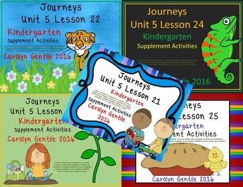 Journeys Kindergarten Bundle Unit 5