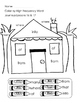 Journeys Kindergarten Color By HFW/Sight Word Unit 4