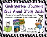 Journeys Kindergarten Focus Wall Read Aloud Story Cards