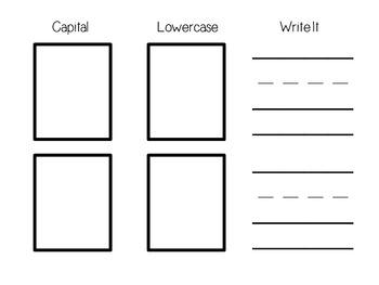 Journeys - Kindergarten Lesson 1 - Supplemental Materials