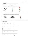 "Journeys Kindergarten Lesson 3 ""Please, Puppy, Please"" Assessment"