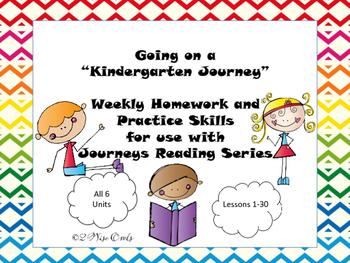 Journeys Kindergarten Practice Skills Units 1 - 2