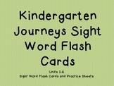 Journeys Kindergarten Sight Word Cards
