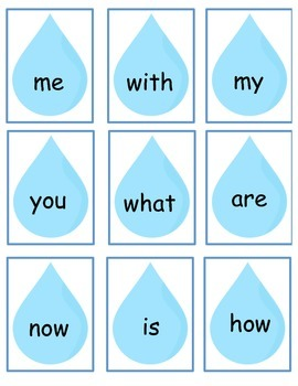 Journeys Kindergarten Sight Word Game