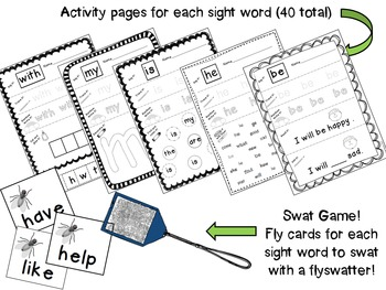Journeys Kindergarten Sight Word Mega Pack {2011 edition}