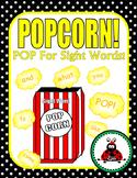 Journeys Kindergarten Sight Word Popcorn! {2014 Edition}