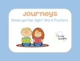 Journeys Kindergarten Sight Word Posters